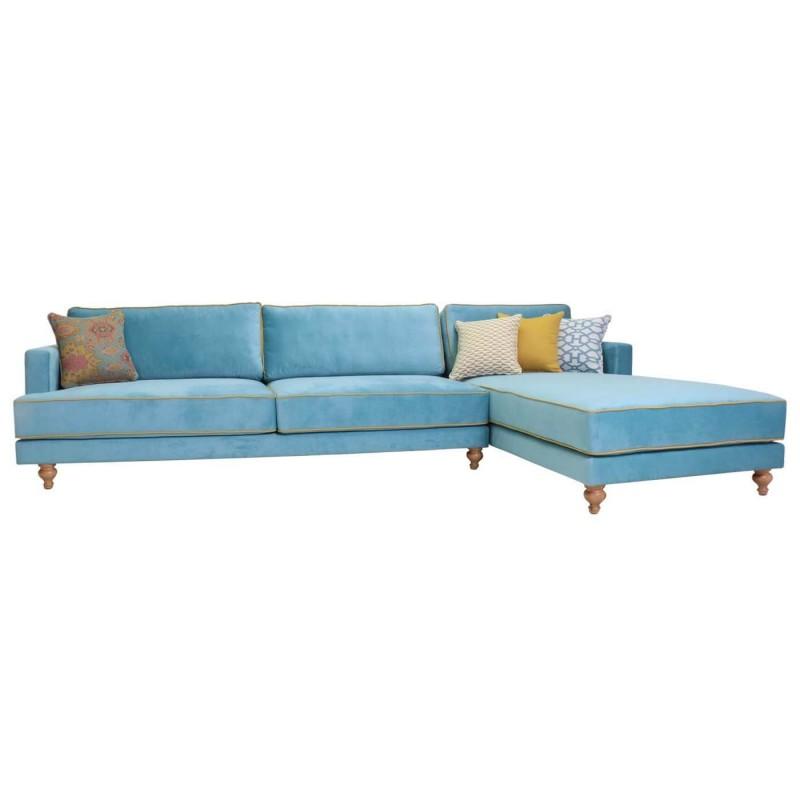 ספה פינתית מעוצבת לסלון איה
