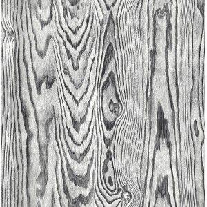 קיר לוח עץ טבעי - שחור אפור