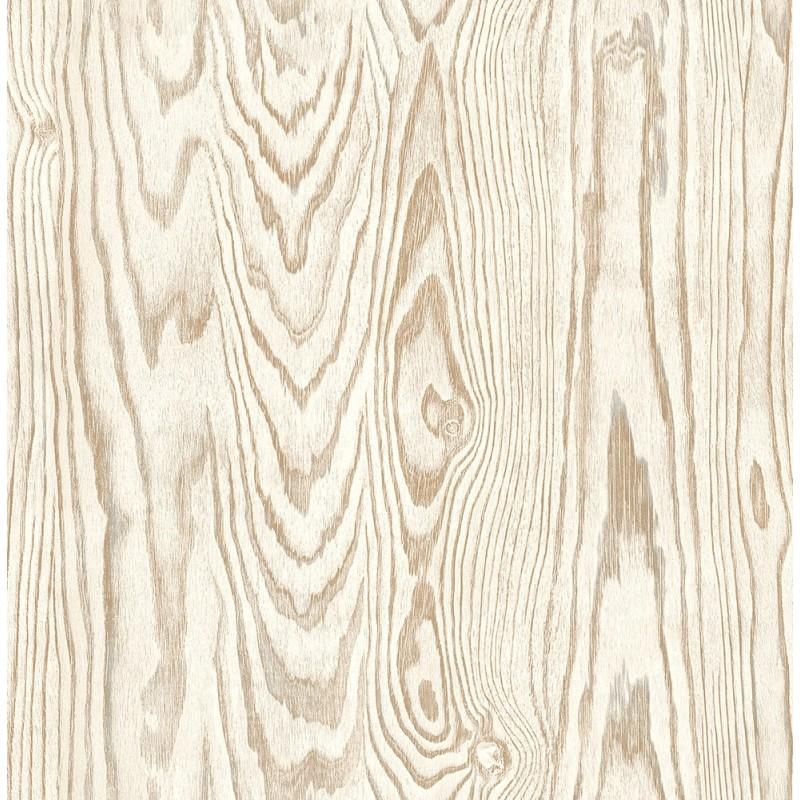 קיר לוח עץ טבעי - בז'