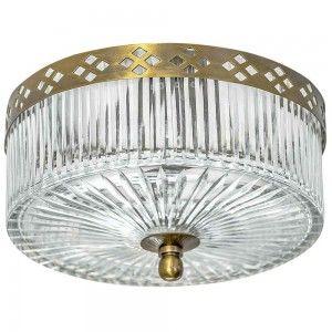 תאורה צמודת תקרה עגולה - דז (פס)
