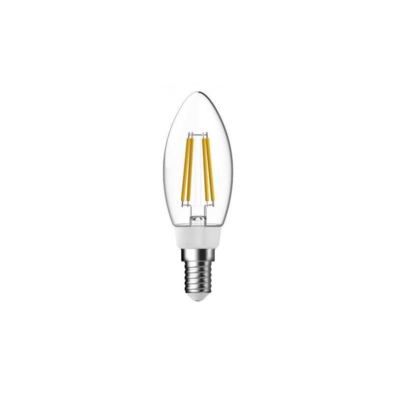 נורת LED נר -פחם לד-אור חם-5W 230V E14