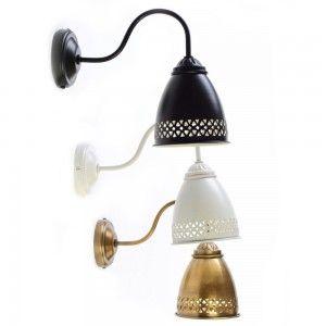 מנורה צמודת קיר נעומי