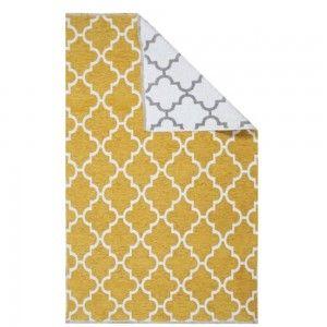 שטיח מודרני רוביו צהוב