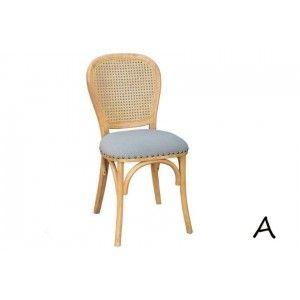 ריהוט לבית, כסאות מרופדים מעץ בשלושה דגמים לבחירה