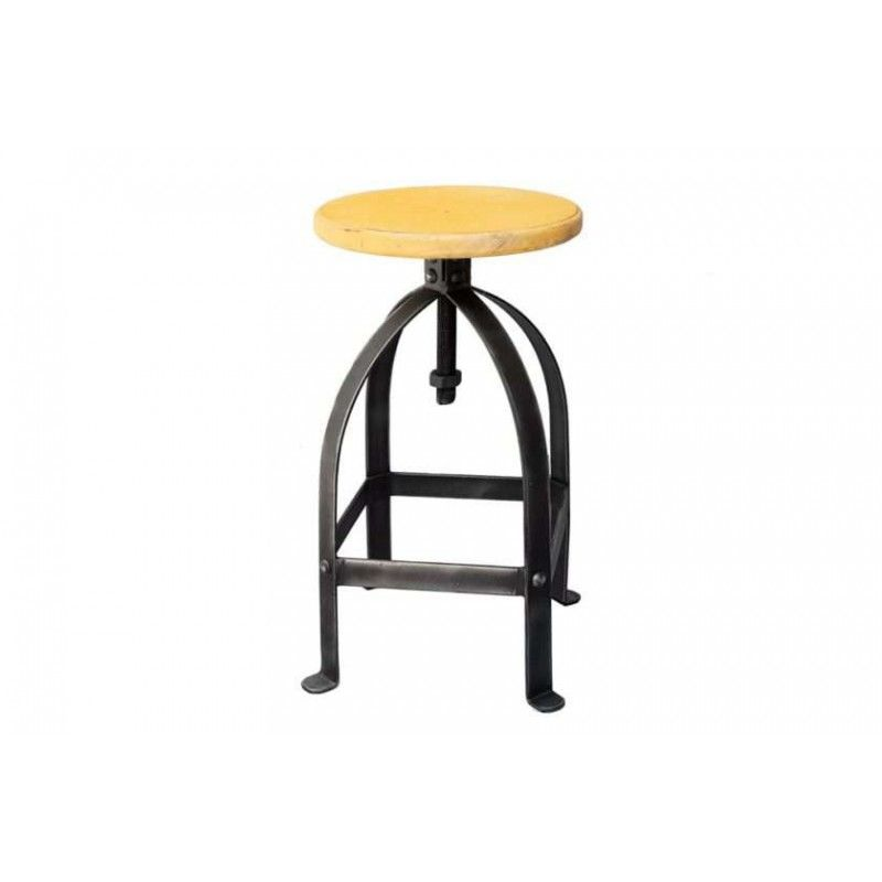 כסא בר ברזל