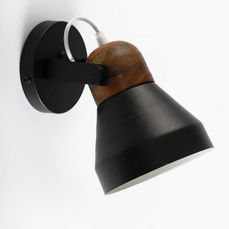 מנורה צמודת קיר ז'ול שחור