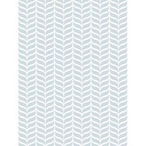 טפט עלים סימטריים כחול