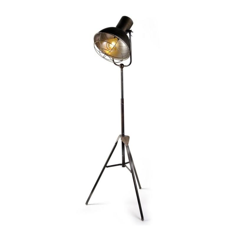 מנורה עומדת פעמון ברזל