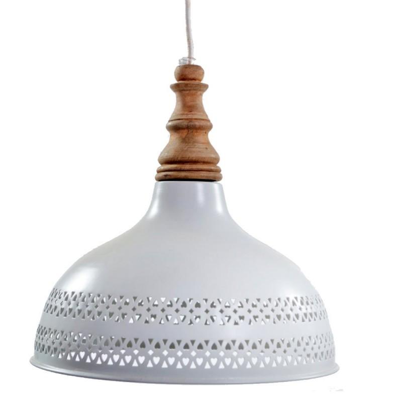 מנורת פעמון רשת לבן