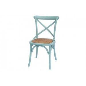 ריהוט לבית, כסא משענת איקס תכלת