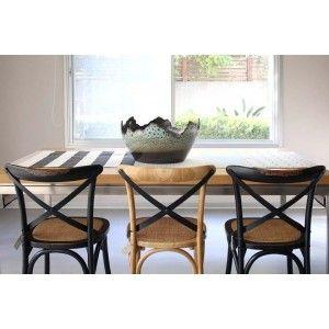 ריהוט לבית, כסא משענת איקס גוון טבעי