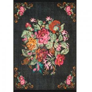 שטיח פרחוני רוזה