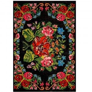 שטיח פרחוני ויולטה