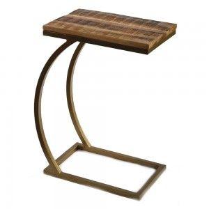 שולחן פינוק צבע פליז