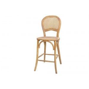 כסא משענת ראטן