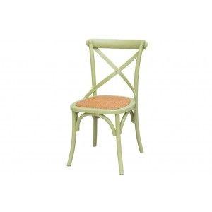 כסאות, כסא עץ ירקרק