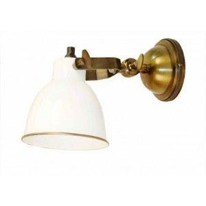 מנורת קיר לילי לבנה
