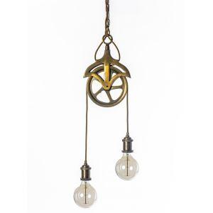 גופי תאורה תלויים, מנורת תליה גלגלת