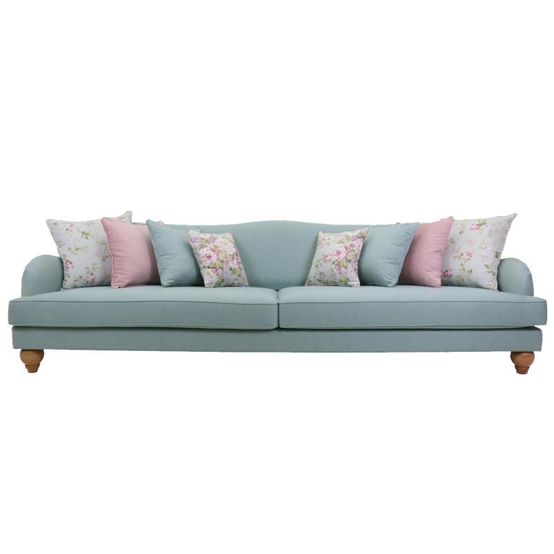 ספות לסלון , ספה מעוצבת נטע תכלת