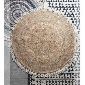 שטיח קש פריז עם פרנזים