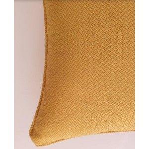 כריות נוי מעוצבות, כרית נוי צהוב עמוק