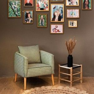 כורסאות מעוצבות , כורסה מעוצבת ליזי ירוקה