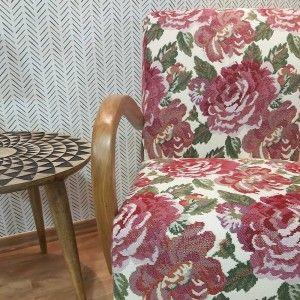 כורסאות מעוצבות , כורסת פרידה פרחונית