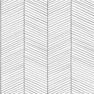 טפטים מפרויקטים, טפט קווים עדינים שחור לבן
