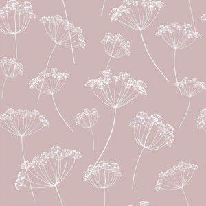 טפטים מפרויקטים, טפט פרח בר ורוד מעושן