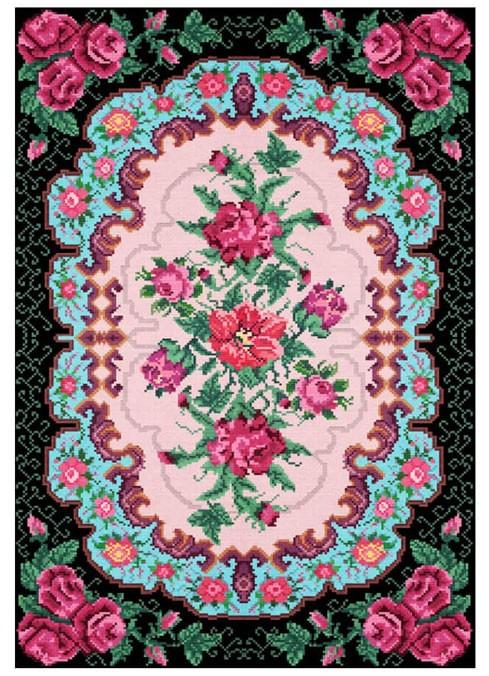 שטיח פינק גארדן