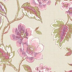 טפט פרחים הדפס (רקע בז')