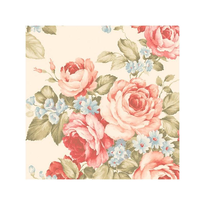 טפט ורדים אלגנטי