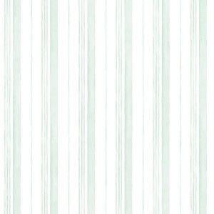 טפט פסים שונים - תכלת ירקרק