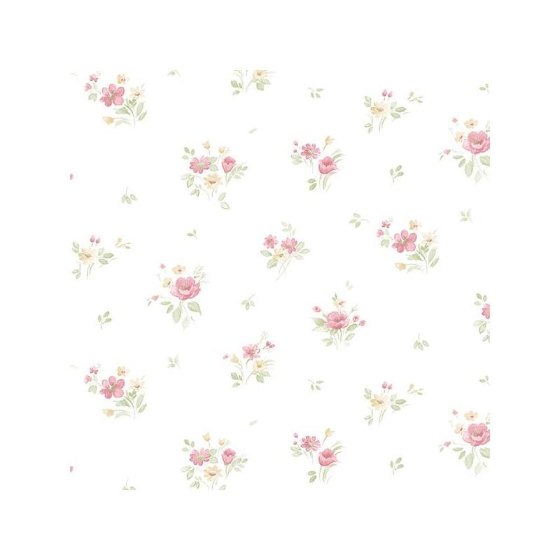 טפטים מעוצבים , טפט נגיעות פרחים 2