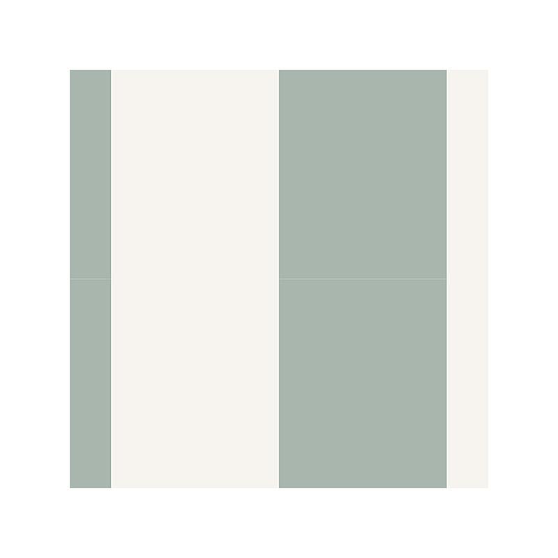 טפט פסים עבים בגווני ירוק מתחלפים