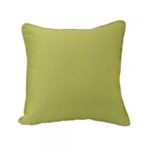 כרית נוי ירוקה חלקה