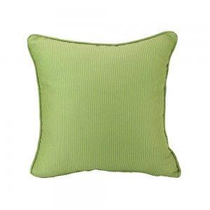 כרית נוי ירוק פסים