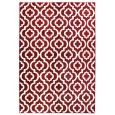 שטיחים מודרניים, שטיח מודרני אדוארד בורדו לבן