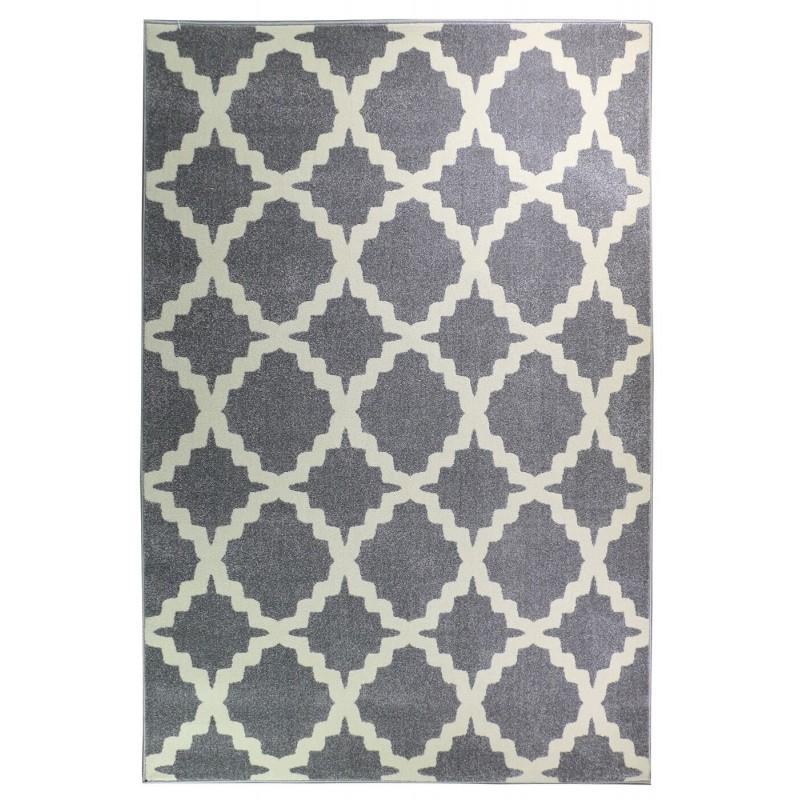 שטיחים מודרניים, אדגר אפור לבן