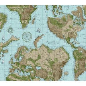 טפט מפת עולם