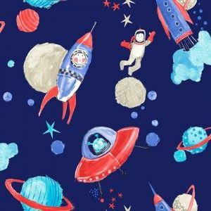טפט אסטרונאוטים בחלל כהה