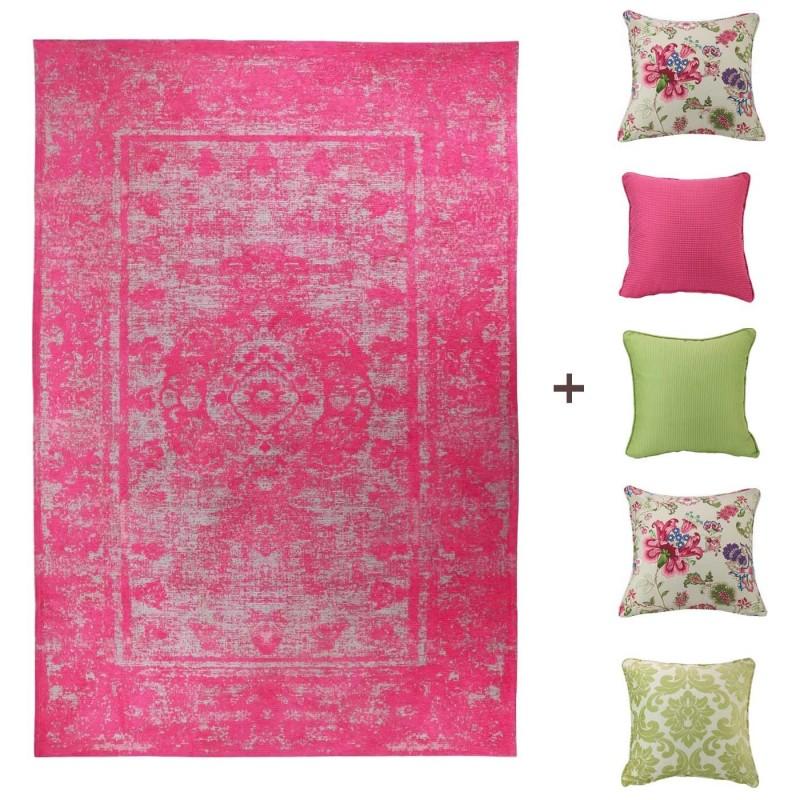שטיח מישל וסט כריות אמיליה