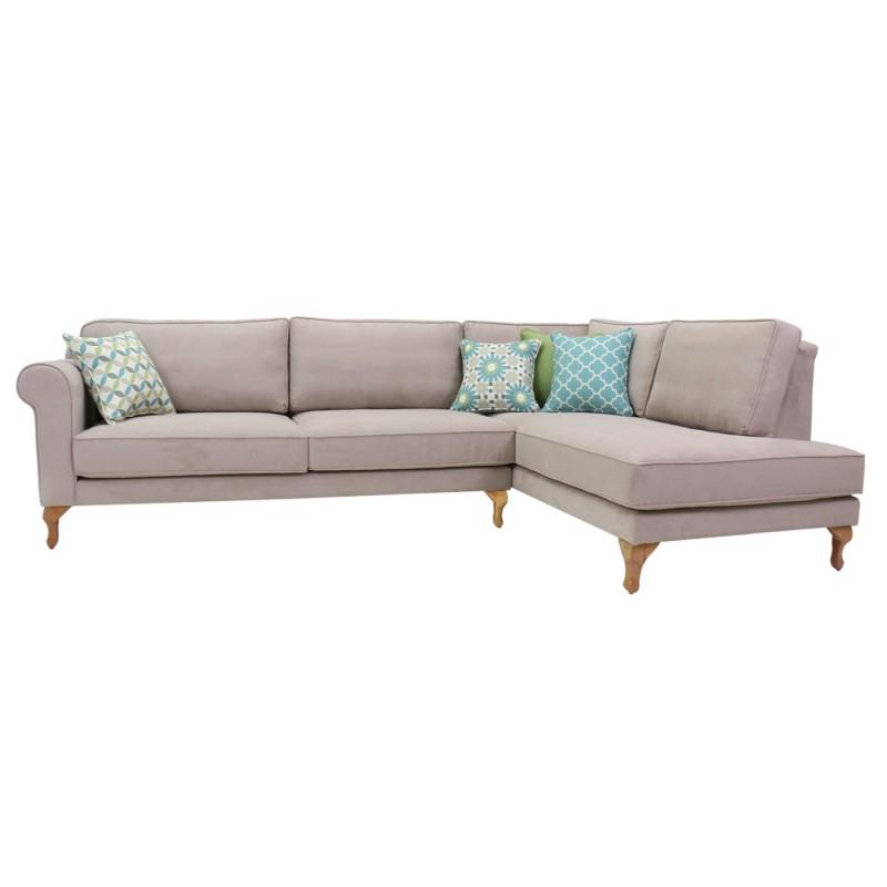 ספה פינתית מעוצבת לסלון עידה בוסטון