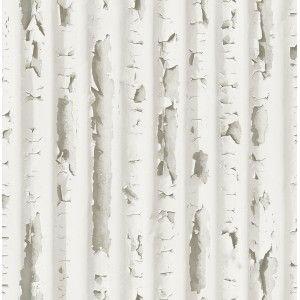 קיר בטון שצבעו מתקלף - לבן מעושן