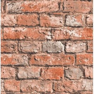קיר לבנים חשוף  - חמרה