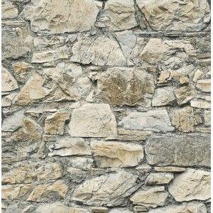 קיר אבן טבעית לבן