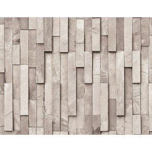 קיר לוחיות אבן - אפור בהיר