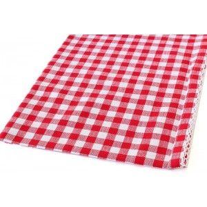 שלישיית מגבות פפיטה אדום לבן