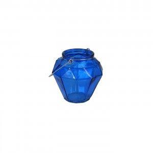 עששית זכוכית כחולה