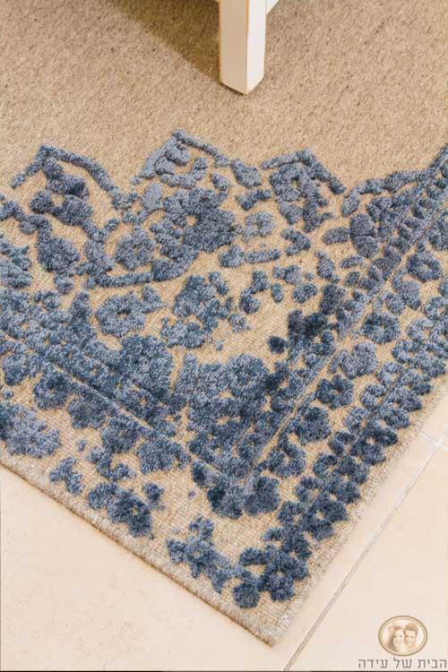 שטיח (ניקולס) תפור בשני גבהים, גם פרקטי וגם נעים